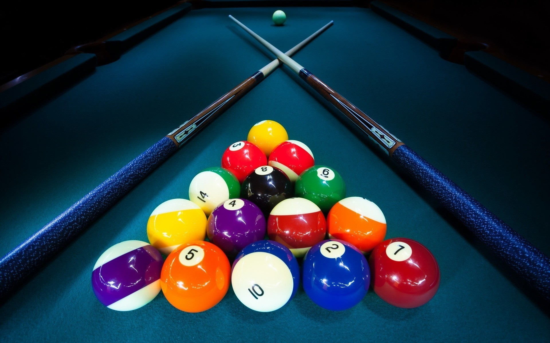 Rack Em' Up! A Brief History within the Billiard Ball