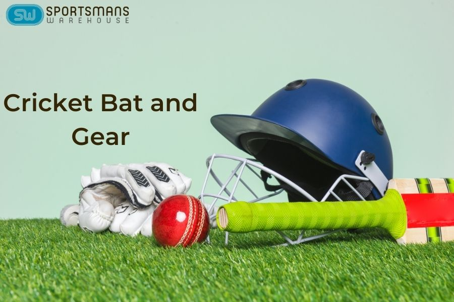 Cricket bats and other cricket gear for you
